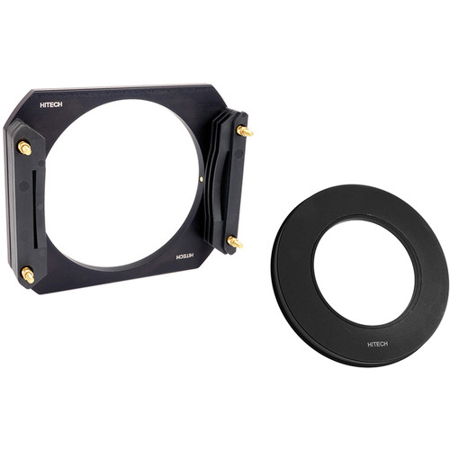 Formatt Hitech 100mm Aluminum Modular Filter Holder Kit with 58mm Wide Angle Adapter Ring