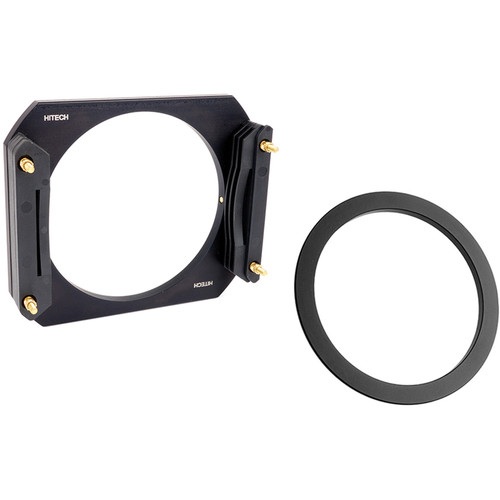 Formatt Hitech 100mm Aluminum Modular Filter Holder Kit with 72mm Wide Angle Adapter Ring