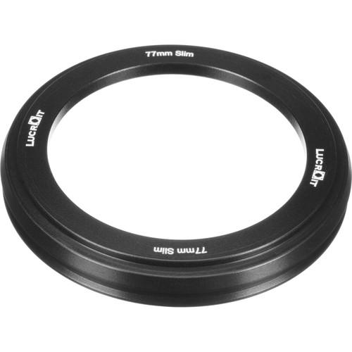 Formatt Hitech 77mm Slim Adapter Ring for 100mm Lucroit Filter Holder