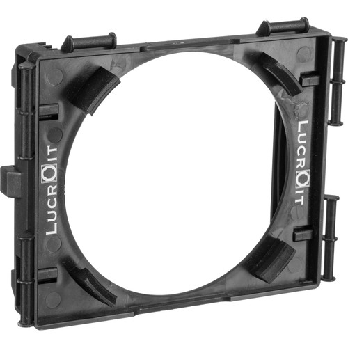 Formatt Hitech 100mm Lucroit Filter Holder with 2 x 4mm Slot Adapters