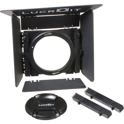 Formatt Hitech Lucroit 100mm Filter Holder Kit with Zeiss Touit 12mm f/2.8 (Fujifilm X-mount) Lens Adapter Ring