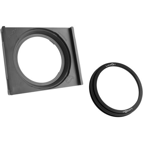 Formatt Hitech 165mm Lucroit Filter Holder Kit with Adapter Ring for Mamiya Schneider Kreuznach 28mm LS f/4.5 Aspherical Lens