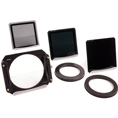 "Formatt Hitech 4 x 4"" ProStop IRND Long Exposure Kit with Holder - Joel Tjintjelaar Signature Edition"
