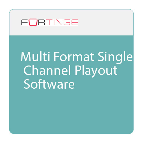 Fortinge Forplay Multi-Format Playout Software (Download)