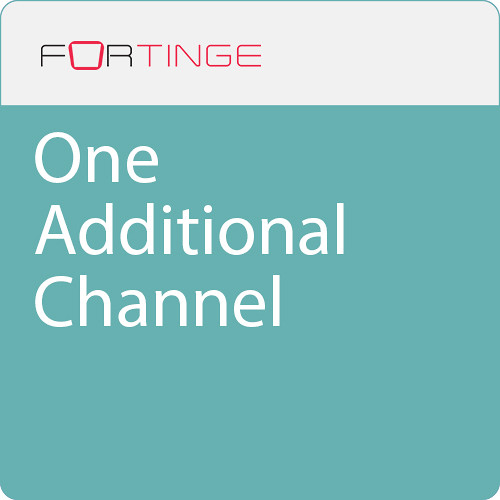 Fortinge Additional Channel for Each Channel Up to 4-Channel