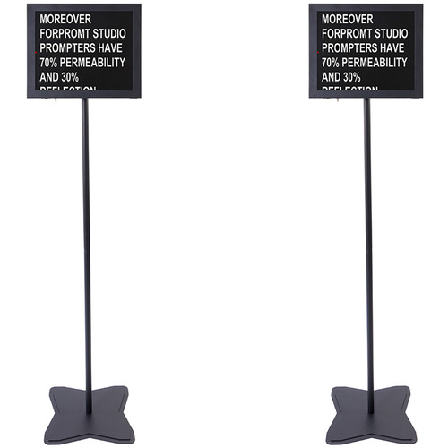 "Fortinge 19"" Meeting Prompter Set (Dual)"