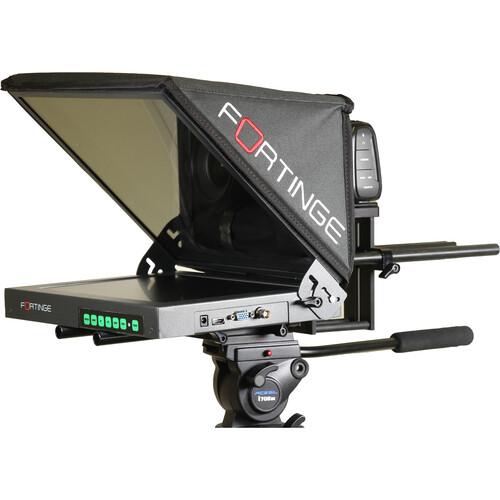 """Fortinge Forprompt 12"""" Studio Teleprompter Set"""