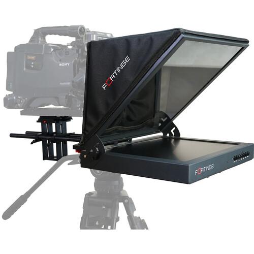 "Fortinge PROS17-HB 17"" High-Bright Studio Prompter Set"