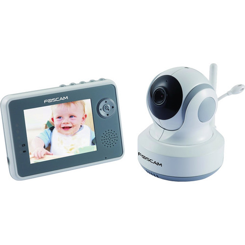 Foscam FBM3501 P/T Day/Night Color Digital Video Baby Monitor
