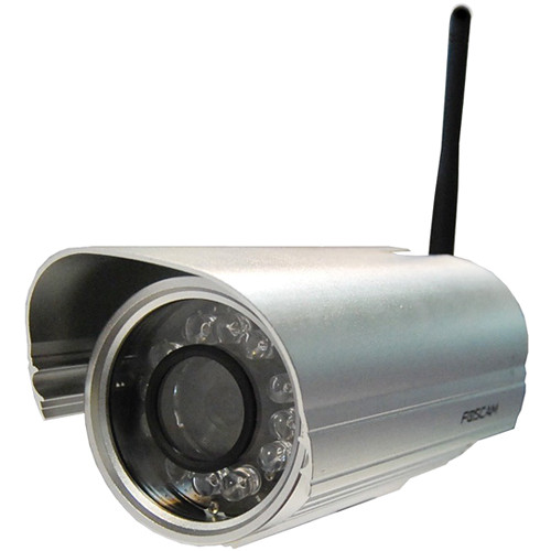 Foscam FI9804W 1.0 MP Outdoor Day/Night Wireless IP Camera