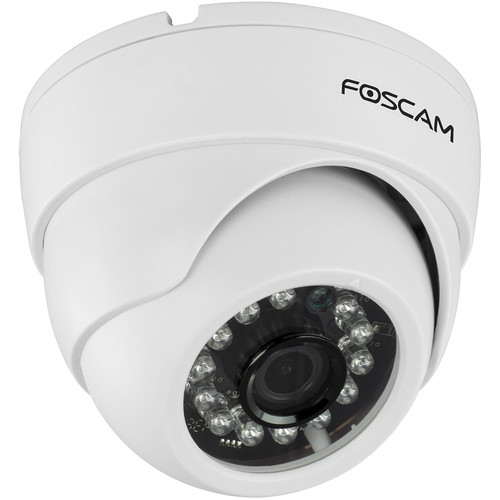 Foscam FI9851P 1MP 720p Wi-Fi Network Dome IP Camera with 2.8mm Lens & Night Vision