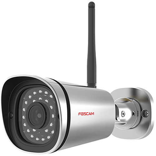 Foscam FI9900PS 2MP Outdoor Wireless Bullet Camera with Night Vision