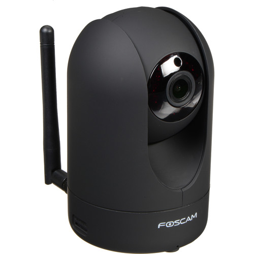 Foscam R2 1080p Wireless Camera with Night Vision (Black)
