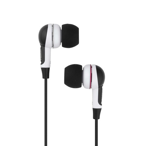 Fostex TE-01n Inner-Ear Headphones (Black and White)