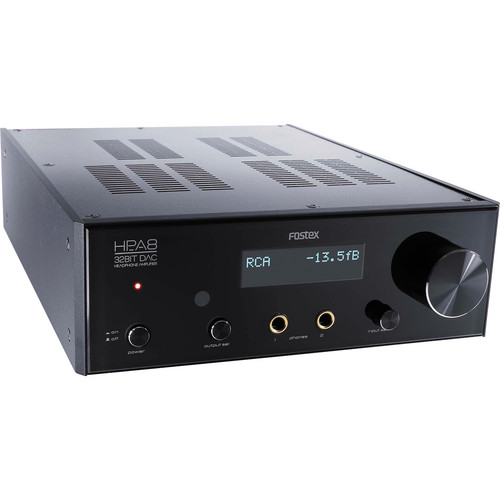 Fostex HP-A8C 32-Bit Digital Audio Converter and Headphone Amplifier