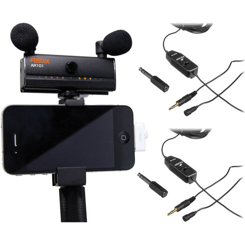 Fostex AR101 Mobile Interviewing Kit