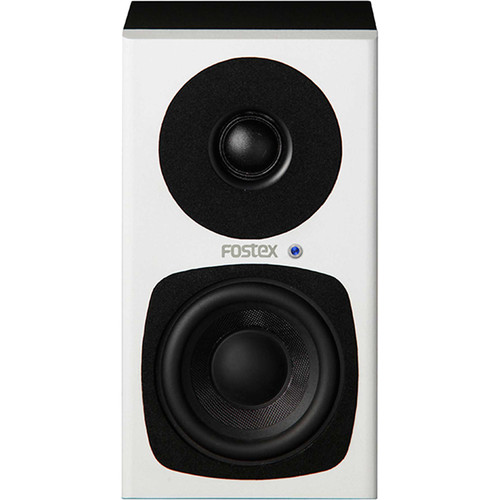 "Fostex PM0.3H-W 3"" 2-Way 30W Personal Active Speaker System (White)"