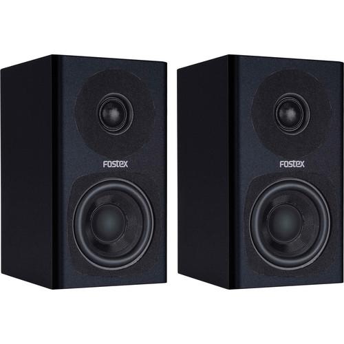 Fostex PM0.3 2-Way Powered Monitor Speaker System (Black)