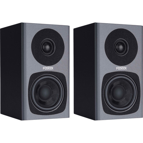 Fostex PM0.3 2-Way Powered Monitor Speaker System (Gray)