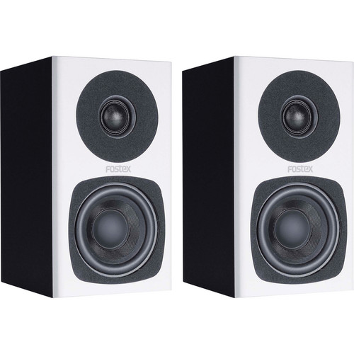 Fostex PM0.3 2-Way Powered Monitor Speaker System (White)
