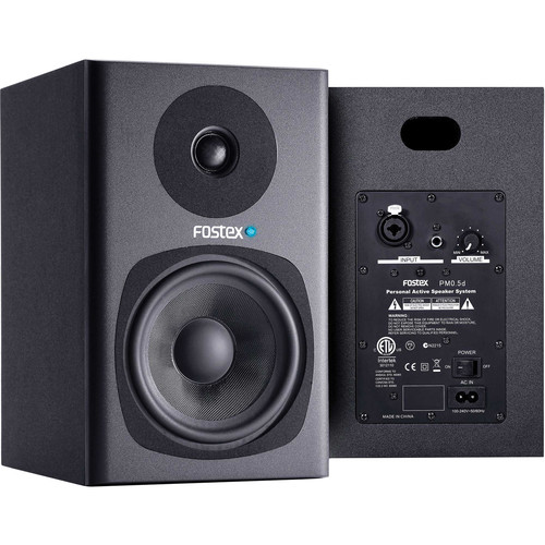 Fostex PM0.5d Personal Active Studio Monitors (Black, Pair)