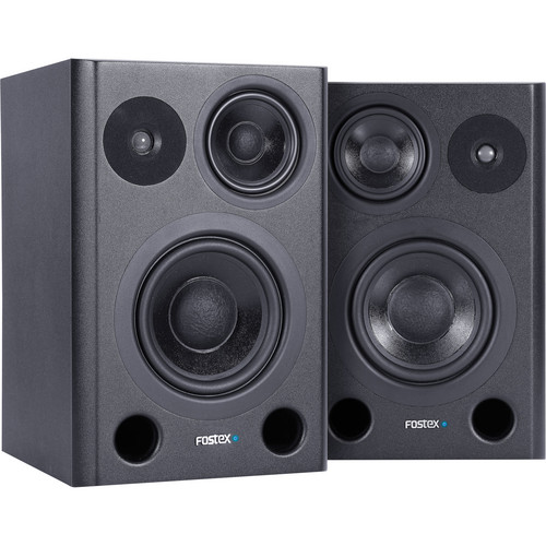 Fostex PM641 3-Way Studio Monitors (Pair)
