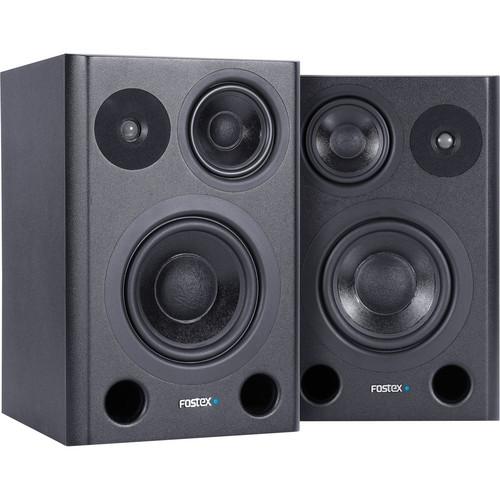 Fostex PM641 3-Way Studio Monitors (Pair)
