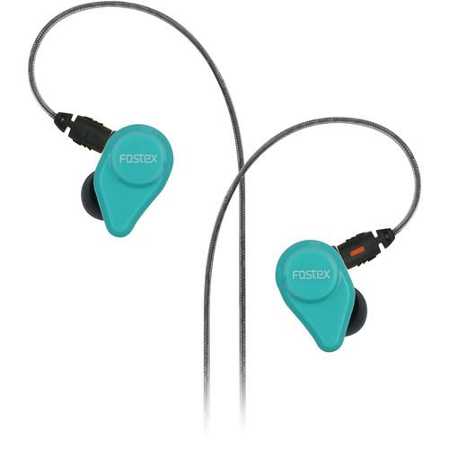 Fostex TE04 Stereo Earphones (Green)