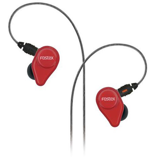 Fostex TE04 Stereo Earphones (Red)