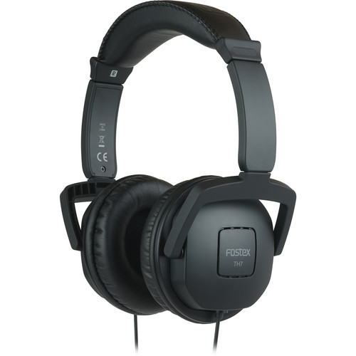 Fostex TH7 Closed-Back Dynamic Stereo Headphones (Black)