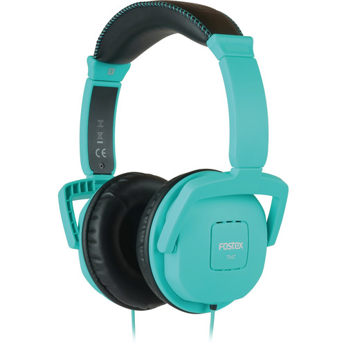 Fostex TH7 Closed-Back Dynamic Stereo Headphones (Blue)