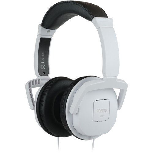 Fostex TH7 Closed-Back Dynamic Stereo Headphones (White)