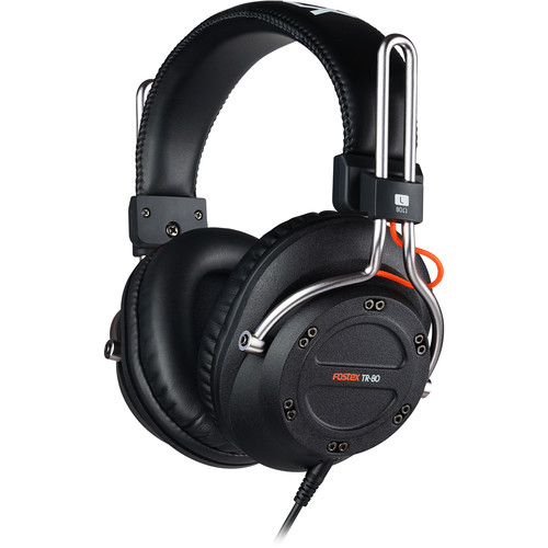 Fostex TR-Series - TR-80 - Professional Studio Headphones (Closed, 80 Ohms)