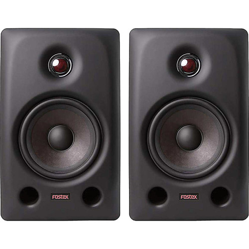 """Fostex Two-Pair of PX-5 5.2"""" 2-Way Active Professional Monitors Kit"""