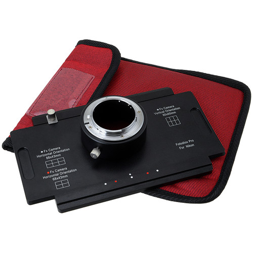 FotodioX Pro Nikon F Large Format 4 x 5 Adapter