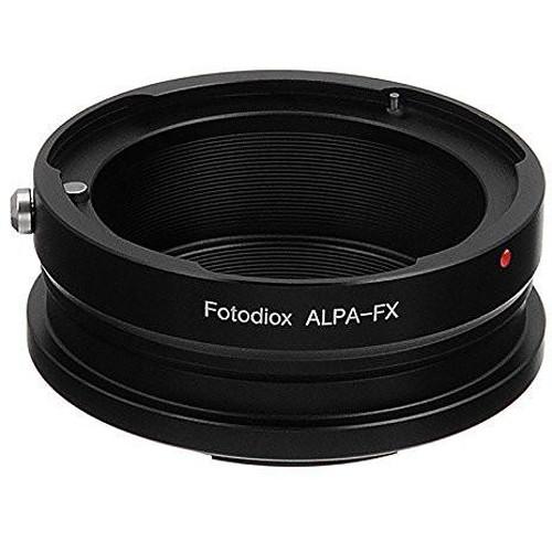 FotodioX Mount Adapter for Alpa 35mm Lens to Fujifilm X-Mount Camera