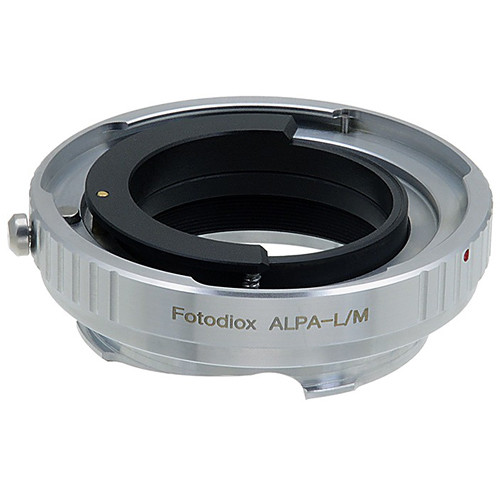 FotodioX Pro Lens Mount Adapter for Alpa-Mount Lens to Leica M-Mount Camera