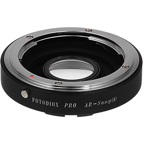 FotodioX Pro Mount Adapter for Konika AR Lens to Sony A-Mount Camera