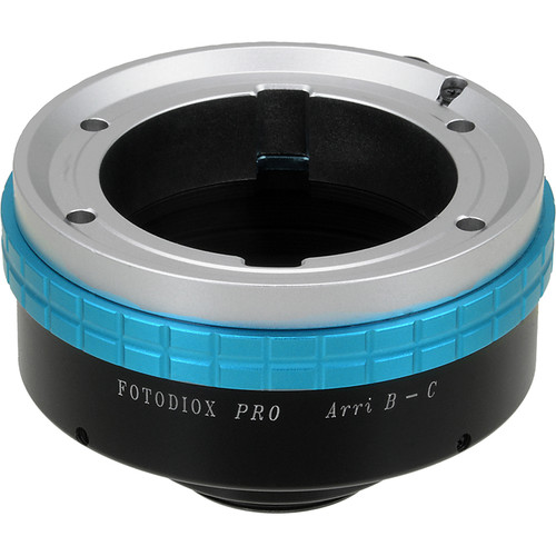 FotodioX Pro Lens Mount Adapter for Arri-B Mount Lenses
