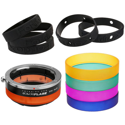 FotodioX ArtFX ColorFlare Sony E-Mount to Canon EOS Lens Adapter