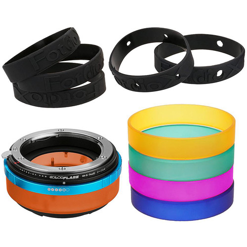 FotodioX ArtFX ColorFlare Sony E-Mount to Nikon G-Type Lens Adapter