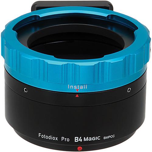 FotodioX Pro B4 Magic Adapter for Blackmagic Pocket Cinema Camera