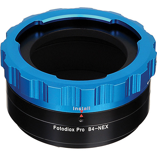 FotodioX Pro Lens Mount Adapter B4 to Sony E Mount