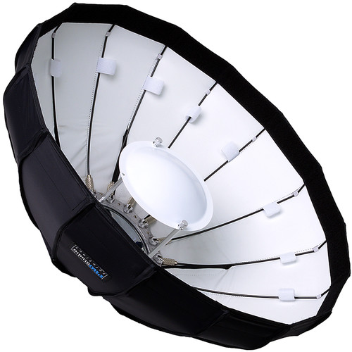 "FotodioX EZ-Pro Foldable Beauty Dish Softbox Combo for Select Speedlight Hot Shoe Flashes (24"")"