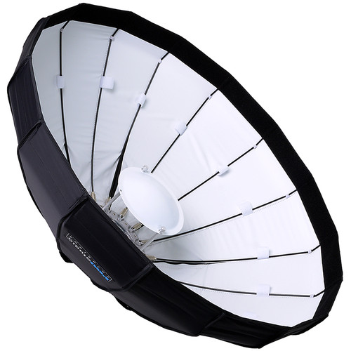 "FotodioX EZ-Pro Foldable Beauty Dish Softbox Combo for Select Speedlight Hot Shoe Flashes (32"")"