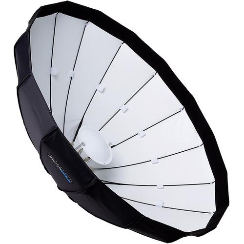 "FotodioX EZ-Pro Foldable Beauty Dish Softbox Combo for Select Speedlight Hot Shoe Flashes (40"")"