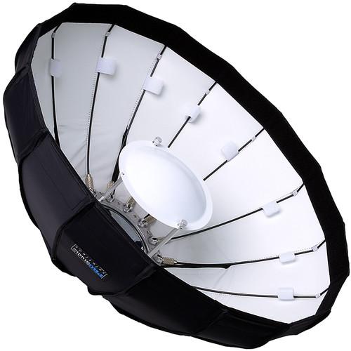 "FotodioX EZ-Pro Foldable Beauty Dish Softbox Combo for Multiblitz Profilux Flash Heads (24"")"