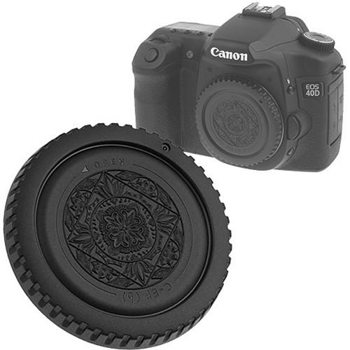 FotodioX Designer Body Cap for Canon EF Mount Cameras (Black)