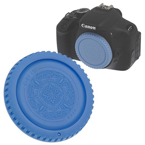 FotodioX Designer Body Cap for Canon EF Mount Cameras (Blue)