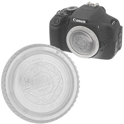 FotodioX Designer Body Cap for Canon EOS EF & EF-S Cameras (Clear)